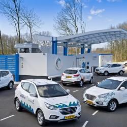El Hyundai ix35 Fuel Cell como un generador eléctrico móvil