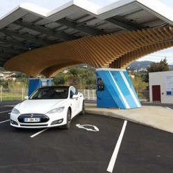 Driveco. Una red de 70 puntos de recarga solar para Córcega
