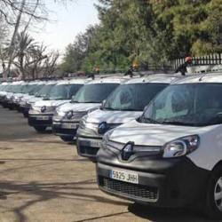Los Agricultores de la Vega de Valencia electrifican su flota con 20 coches eléctricos de Renault