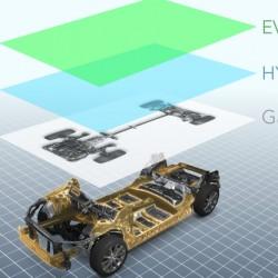 Subaru presenta una nueva plataforma compatible con sistemas híbridos y eléctricos