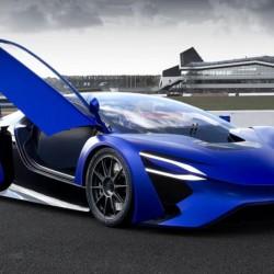 Presentado el TechRules AT96. Un superdeportivo eléctrico con extensor de autonomía