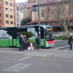Dos nuevos autobuses eléctricos para Bilbao a finales de año