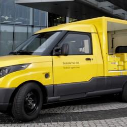 El servicio postal de Alemania se lanza a la fabricación de coches eléctricos para el reparto