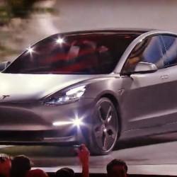 Tesla Model 3. Presentación en directo