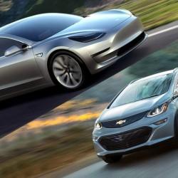 Los retos del Chevrolet Bolt de cara a la llegada del Tesla Model 3