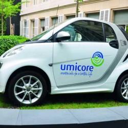 Umicore anuncia que triplicará su producción de cátodos para baterías destinadas a coches eléctricos