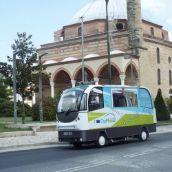 Arranca en San Sebastián uno de los primeros sistemas de autobuses autónomos en España