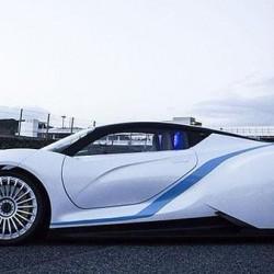 BAIC BJEV presentará un superdeportivo eléctrico diseñado en España