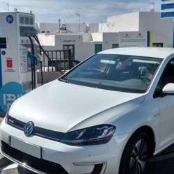 IBIL instala tres puntos de recarga rápida para coches eléctricos en Lanzarote