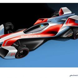 Mahindra y Pininfarina nos muestran el Fórmula E del mañana