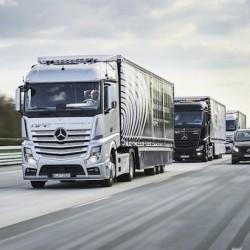 Los camiones autopilotados toman las autovías alemanas