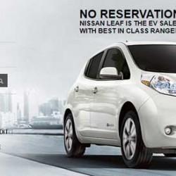 Nissan lanza una campaña publicitaria con la vista puesta en las reservas del Tesla Model 3