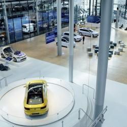 Volkswagen convierte una fábrica cerrada en un expositor de movilidad eléctrica