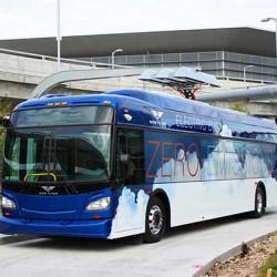 Xcelsior XHE60. Un autobús dotado de una pila de combustible de hidrógeno empieza una serie de pruebas