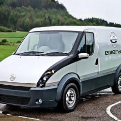 Emerald T-001. La furgoneta eléctrica con extensor de autonomía se fabricará en Reino Unido