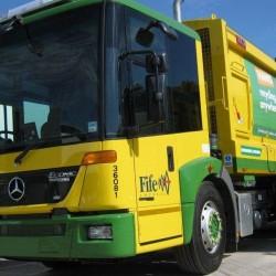 Dos camiones de basura a hidrógeno para la localidad escocesa de Fife