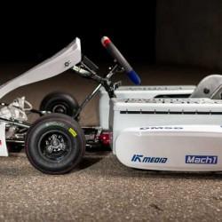 Bosch presenta su kart eléctrico. De 0 a 100 km/h en menos de 5 segundos, y hasta 130 km/h de velocidad