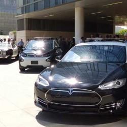 La policía de Los Ángeles no está preparada para los coches eléctricos