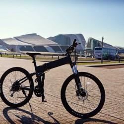 Prueba de la Legend Etna 2016. Una bicicleta eléctrica de montaña, y plegable