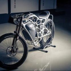 Airbus presenta la primera moto eléctrica fabricada con una impresora 3D