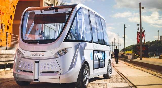 Movelco trae a España el NAVYA ARMA. Un microbús eléctrico y autónomo