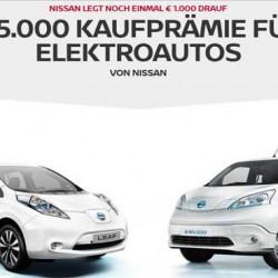 Nissan añade 1.000 euros de ayuda en Alemania para la compra del LEAF o la e-NV200