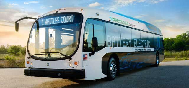Según Proterra, los autobuses eléctricos ya son más baratos que los diésel y gas. En 2030 todas las ventas serán de modelos eléctricos