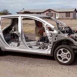 La clave está en el peso. Un Nissan LEAF capaz de acelerar hasta los 100 km/h en apenas 7 segundos