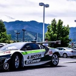 Un Acura NSX eléctrico y de 1.000 CV para el Pikes Peak 2016