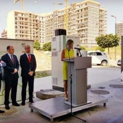 Primer punto de recarga rápida para coches eléctricos en Pamplona. Tarifa plana por 4 euros al mes