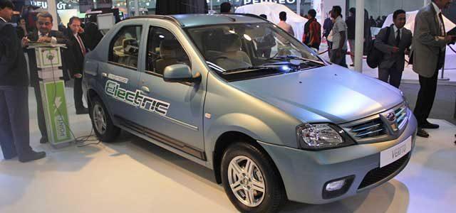 Este mes llega al mercado el Mahindra  e-Verito. El Dacia Logan de los coches eléctricos