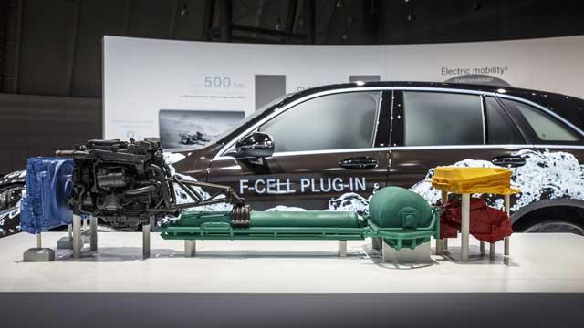 Mercedes-GLC-F-Cell configuración