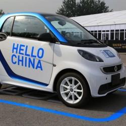 Car2Go encuentra una mina en China. 78.000 usuarios en dos meses en su primera ciudad