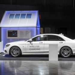 El Mercedes S500E se actualizará en 2017. Más batería y recarga inalámbrica
