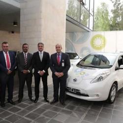 Nissan firma un acuerdo con Amán, Jordania, para crear la primera flota de taxis eléctricos de Oriente Medio