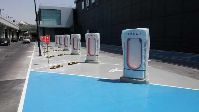 supercargadores Tesla Murcia