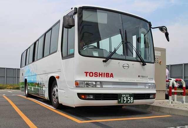 Toshiba ev bus