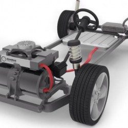 Peugeot trabaja en un extensor de autonomía para coches eléctricos
