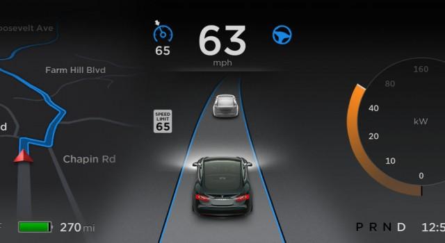 Tesla pone fecha a la liberación de la actualización 8.1 de su sistema