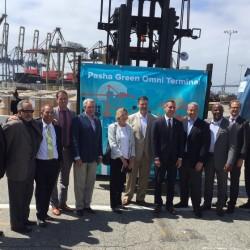 BYD proveerá al puerto de los Ángeles de un sistema de baterías estacionarias de 2,6 MWh y 2 camiones eléctricos