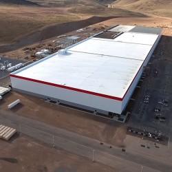 Tesla prepara un acto especial en la Gigafábrica de baterías para enero