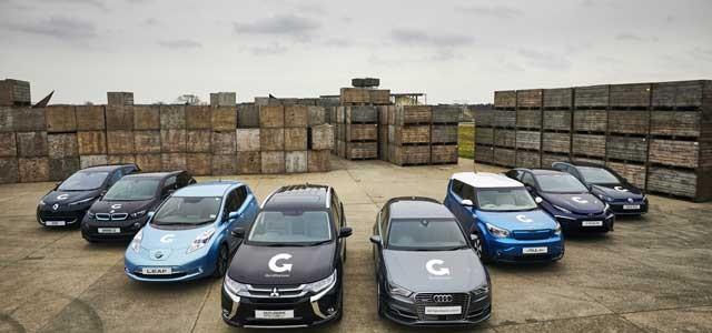 Reino Unido presenta un plan que pretende que en 2040 todos los coches nuevos sean eléctricos