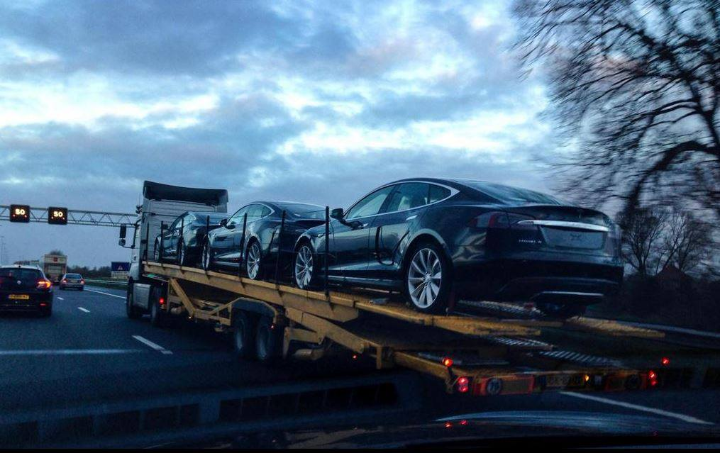 model s delivery