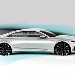 El Audi A9 e-tron llegará en 2020. Un eléctrico con 500 kms de autonomía, y autónomo