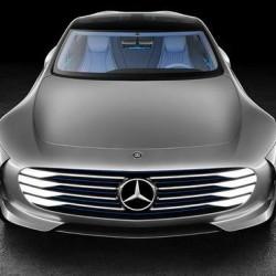 Mercedes se inclina por un futuro con coches eléctricos dotados de aerodinámica activa