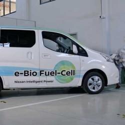 Nissan presenta una e-NV200 dotada de una pila de combustible de óxido sólido. Hasta 600 kilómetros de autonomía