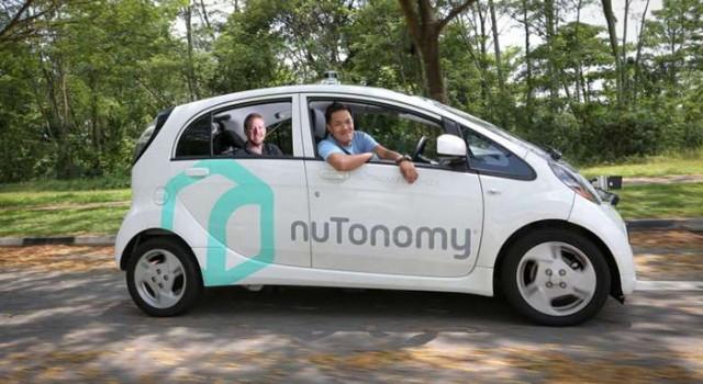 Los primeros taxis autónomos y eléctricos empiezan sus trabajos en Singapur