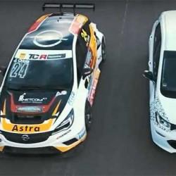 Primer vídeo del Opel Ampera-E en accción. Prueba de aceleración