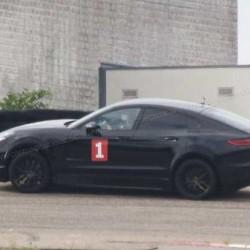 Avistado un Porsche Cayenne Coupe eléctrico durante unas pruebas