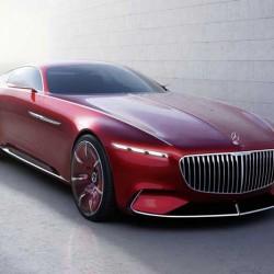 Vision Mercedes-Maybach 6. Todo lujo, todo exceso, y también todo eléctrico